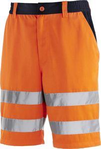 teXXor Unisex Warnschutz-Shorts ERIE 4345 Mehrfarbig leuchtorange/navy 62