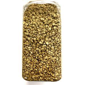 Dekosand Streudeko 700g Dekosteine Tisch Deko Sand Dekogranulat Streusand Dekorationssand Gold