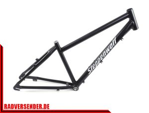 26 Zoll Alu Herren City Rahmen Steppenwolf  RH 40cm frame schwarz matt