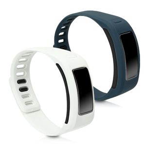 2x Armband kompatibel mit Garmin Vivofit