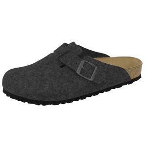 BIRKENSTOCK Boston  Clogs Pantoffel Hausschuhe Grau Schuhe, Größe:46