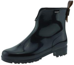 Romika Giada 01 kurzschaft Gummistiefel chelsea boots schwarz, Groesse:35.0