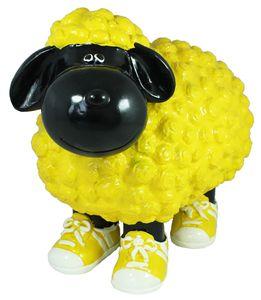 bunte Deko Schafe für Garten Deko Schaf mit Turnschuhe Gartendeko Schaf 5 verschiedene Farben
