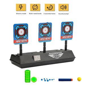 Auto-Reset Intelligent Light Light Sound Effect Scoring Ziele Spielzeug