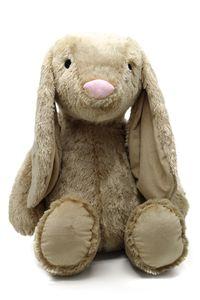 Plüschtier Kuscheltier Hase beige Madchen Junge XXL 88cm Baby Kinder Kissen