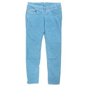 19630 Gang, Valencia,  Damen Jeans Hose, Popeline Stretch, cyanblue, W 31 L 32