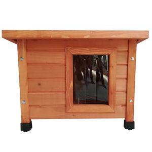 @Pet Outdoor Katzenhaus Holz Braun