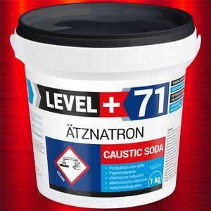 1kg RM71 Ätznatron, kaustisches Soda NaOH, Natriumhydroxid EIMER