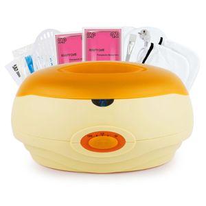 SPEED Paraffinbäder Wachsbad für Hände und Füße mit Zubehör 150W - Orange