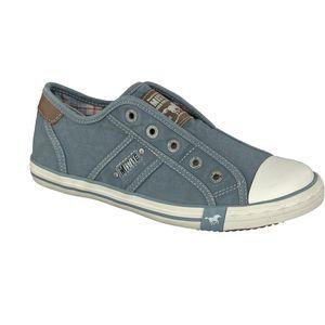 MUSTANG Damen Low Sneaker Blau Schuhe, Größe:41