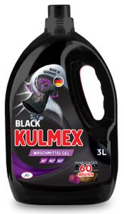 KULMEX® - Black Waschmittel Gel, 4er Pack (1 x 240 Waschladungen) 0,07 EUR/ Waschladung