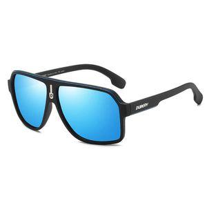 Herren polarisierte Sonnenbrille Fahrbrille Herren Retro-Sonnenbrille Sommer Herren verspiegelte Brille D103/5#/