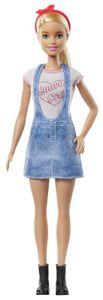 Barbie Karriere Puppe (blond) mit Überraschungs-Moden und Accessoires