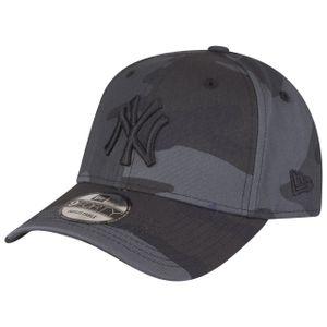 New Era League Essential 9Forty Adjustable Cap NY YANKEES Grau Camouflage, Size:Onesize
