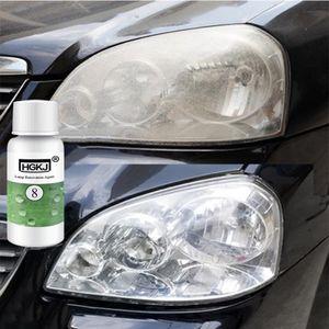 20ML Auto Scheinwerfer Politur Flüssigkeit Aufbereitungs KFZ Lampe Gehäuse Linsen KFZ-Pflege Tool
