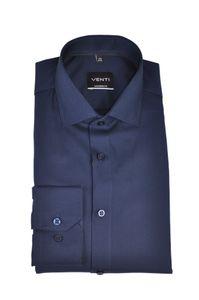 Venti - Modern Fit - Businesshemd extra langer Arm 72cm (193295502), Kragenweite:40, Farbe:Blau (106)