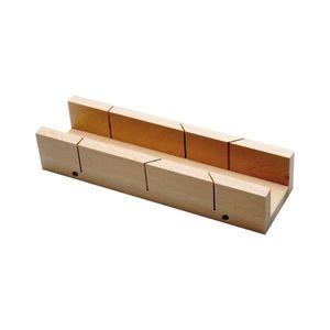 Gehrungsschneidlade aus Holz Länge 300 mm
