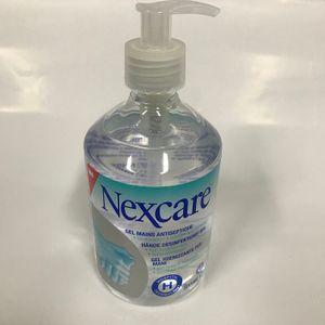 1x 500ml 3M Nexcare Hände Desinfektions-GEL Desinfektionsmittel Händedesinfektion