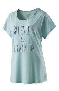 energetics Damen Freizeit Fitness Gymnastik T-Shirt Garabelli III blue light melange, Größe:40