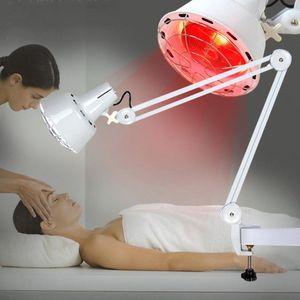 275W Infrarotlampe Infrarot Lampe mit Clip Strahler Wärmelampe Rotlicht Lampe Hitze Tpie Physiotpie Schmerzlinderung Wärmetpie