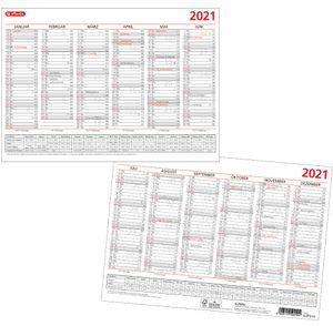 herlitz Tafelkalender 2021 DIN A4