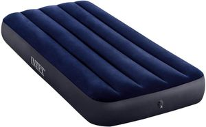 Intex Luftbett Dura-Beam Classic, 191 x 76 x  25 cm 64756 Luftmatratze Single blau