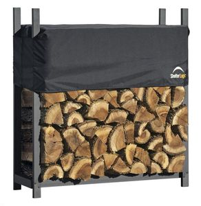 Kaminholzregal mit Abdeckung Shelter Logic 119,4x36x118,9cm