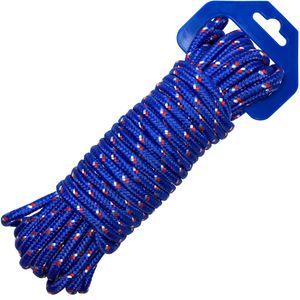 Allzweck Seil Transport Sicherung Seil 12m x 6mm Durchmesser blau