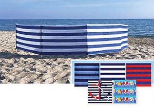 Explorer Strandwindschutz Baumwolle 500x75 Sichtschutz Strandmuschel Windschutz