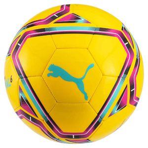 Puma Final 6 Trainingsfußball RD549 (3) (Neongelb/Blau/Rot)