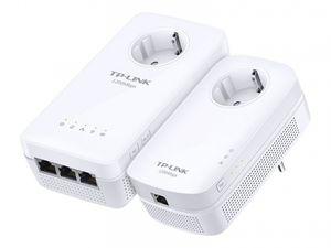 TP-LINK TL-WPA8630PKIT DE - AV1200 WLAN Powerline KIT 1200Mbit, Farbe:Weiß
