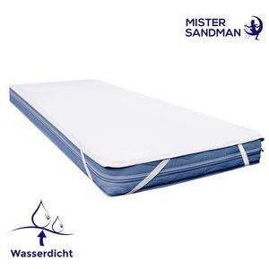 Matratzenschutz 90x200 Nässeschutz Mister Sandman - wasserdichter und waschbarer Schutz für die Matratze in verschiedenen Größen, 90x200cm