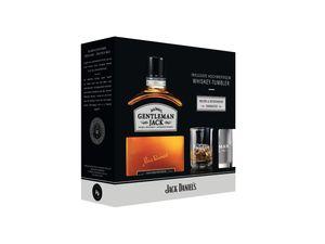 Gentleman Jack + Glas PROMO   40 % vol   0,2 l