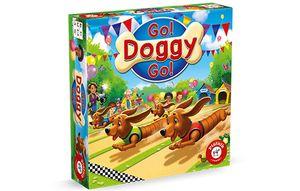 Piatnik 723797 Go! Doggy Go! Kinderspiel
