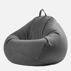 CAMTOA Bean Bag Bazaar Außensitzsack mit Hohem Rückenteil,87cm x 65cm, Gartensitzsack Wasserabweisend, Gaming Sitzsack Grau