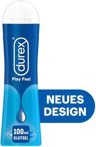 Durex Play Feel Gleit- & Erlebnisgel auf Wasserbasis Gleitmittel Gleitgel 100ml