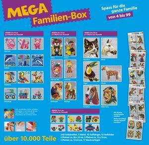 """Mini Stecksystem """"Mega Familien-Box"""", über 10.000 Teile, mehrfarbig Nr. 41289"""