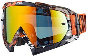 O'Neal B-10 Goggles pixel orange/white