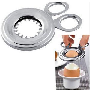 Eierköpfer/Eieröffner, Cromargan Edelstahl mattiert, spülmaschinengeeignet