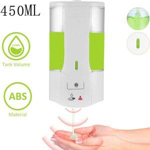450ML Automatisch Desinfektionsspender Infrarot Sensor Seifenspender Wandmontage