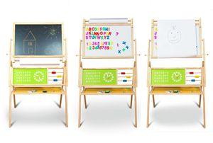 Maltafel Kinder-Standtafel mit Papierrolle Zubehör
