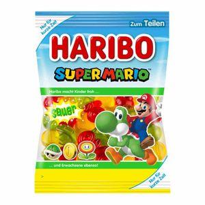 Haribo Super Mario super Special Edition Fruchtgummi sauer 175g