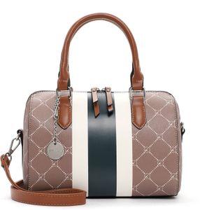 Tamaris Damen Handtaschen Bowlingbag Anastasia Strips 30713