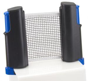 Angel Sports ausziehbares mobiles Tischtennisnetz mit Schnellspanner Aufrollfunktion