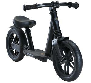 BIKESTAR Vollgefedertes Aluminium Kinder Laufrad ab 2-3 Jahre | 10 Zoll Lauflernrad Fully | Schwarz