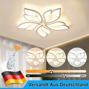42W LED Deckenleuchte Deckenlampen Dimmbar Wohnzimmer Badleuchte Küchen Lampe Weiß