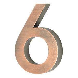 Hausnummer Scala kupfer Nr. 6