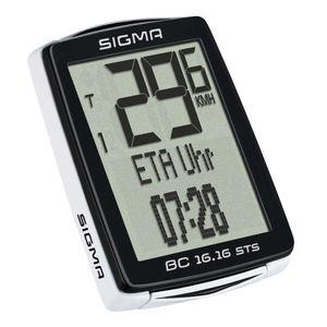 Sigma Fahrradcomputer BC 16.16 STS Schwarz 1617