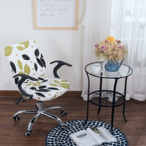 Landhaus Bezug für Bürostuhl - Husse für Bürodrehstuhl Drehstuhl 2 wie beschrieben # 4