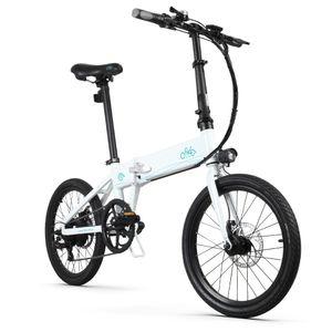 FIIDO D4S Faltbares Elektrofahrrad 20Zoll 250W Motor E Bike Klapprad Citybike